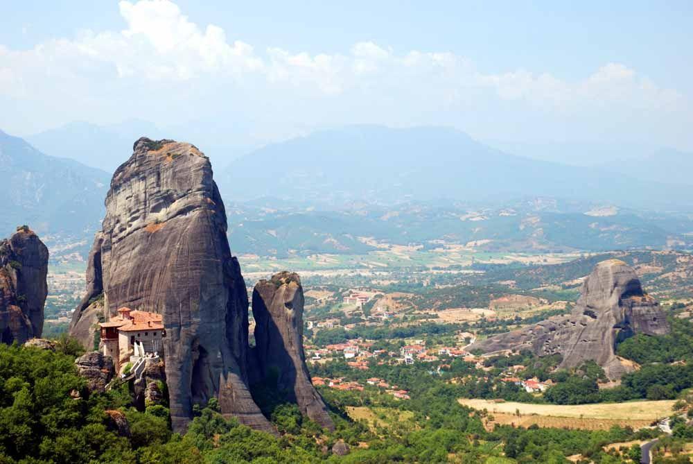 メテオラ奇岩群の誕生の謎