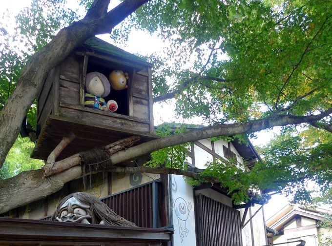 『ゲゲゲの女房』のロケ地としても知られる深大寺へ