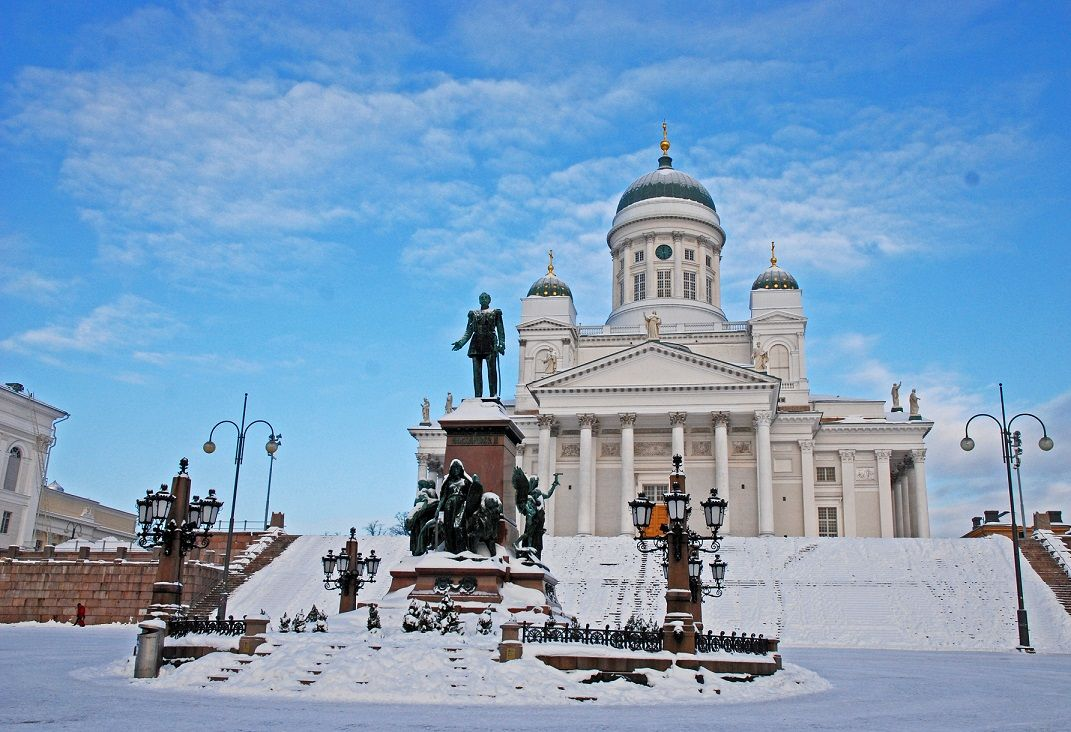 ヘルシンキで美しい街並みを散策!