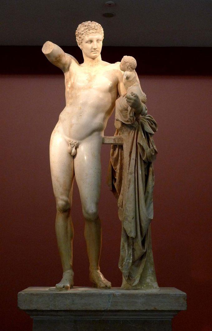 古代オリンピックの様子を今に伝える遺跡群