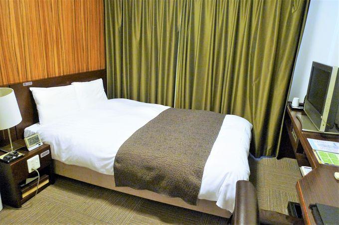 シティホテルならではの機能的で使いやすい造り