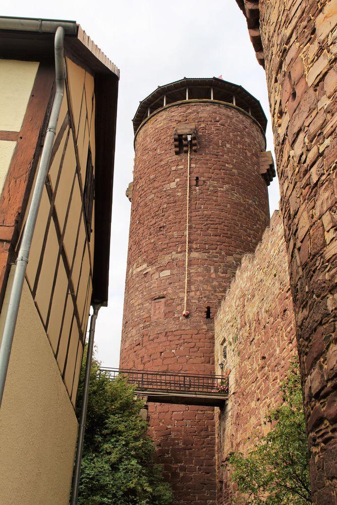 ラプンツェルが顔をのぞかせそうな高層の塔とは!?
