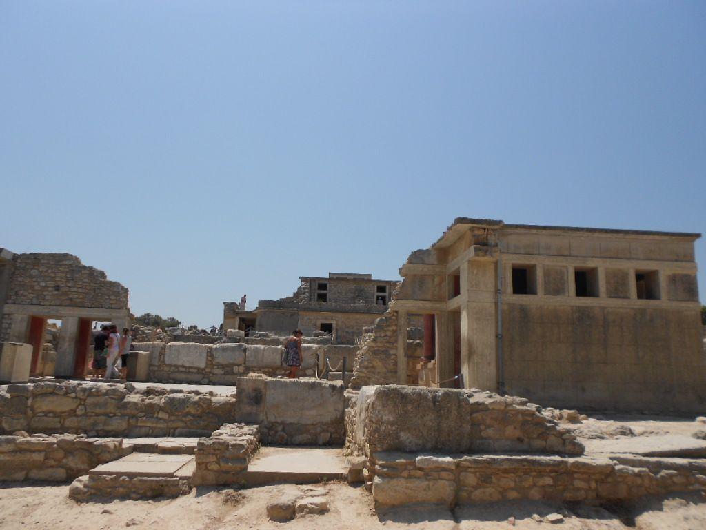 クノッソス宮殿とイラクリオン