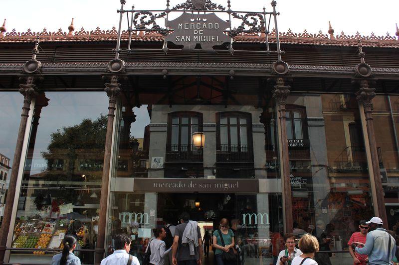 スペイングルメを堪能!マドリッド「サンミゲル市場」