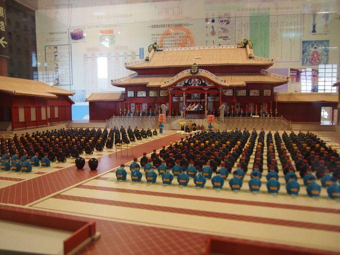 多くの要人を歓待した北殿には、儀式を再現した圧巻のミニチュア