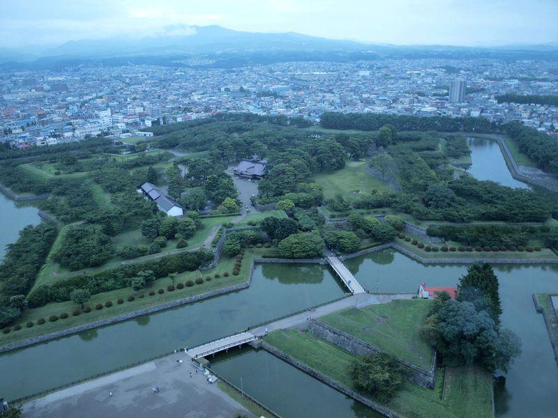 日本初の西洋城郭は計算された気鋭の城〜函館・五稜郭〜