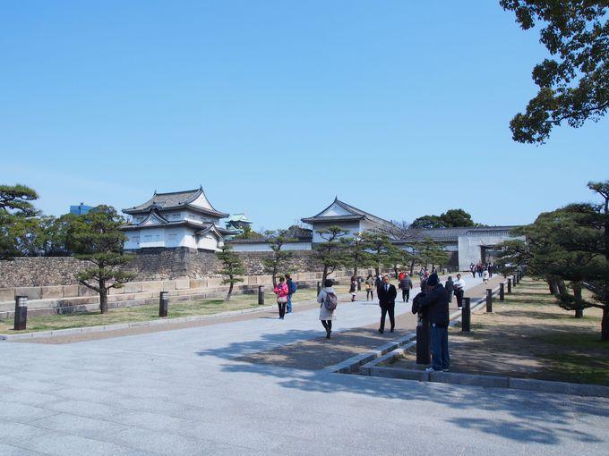 日本最大規模の桝形虎口「大手門」