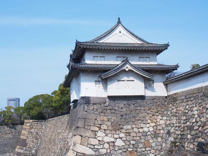 大手口防衛の隅櫓「千貫櫓」
