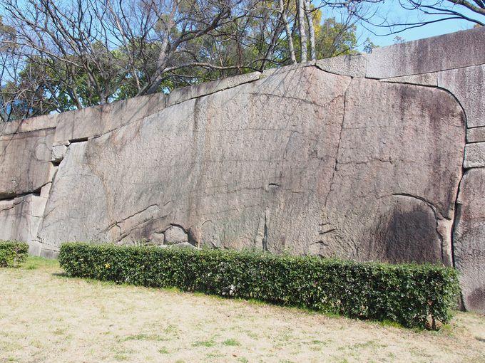 大阪城第2位の城石は京橋口に存在「肥後石」