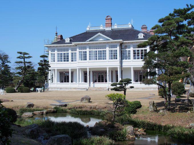 山陰屈指の本格的洋風建築「仁風閣」