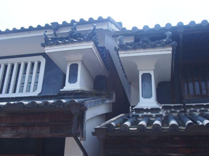 四国・徳島の軒下に見る建築の粋「うだつの町並み」(徳島県)