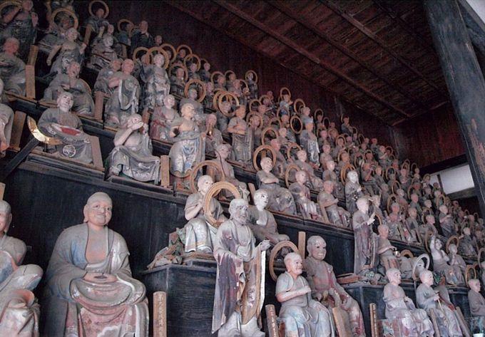 五百羅漢との意外な出会い「天寧寺」