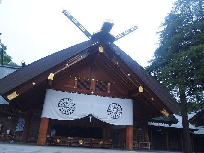 北海道神宮「拝殿」