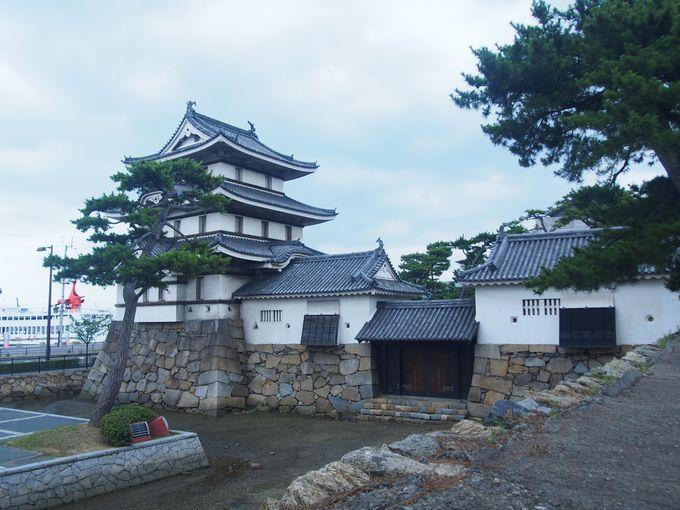 月見櫓と水手御門と渡櫓
