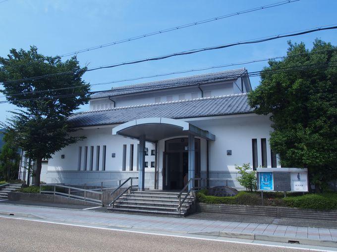 まずは、「柏原歴史民俗資料館・田ステ女記念館」へ
