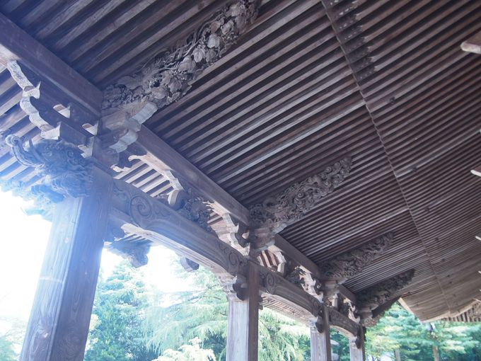 「太子堂手挟彫刻」が瑞泉寺最大の見どころです