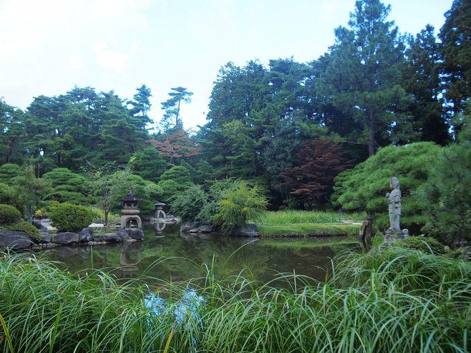 庭園の美しい「輪王寺」