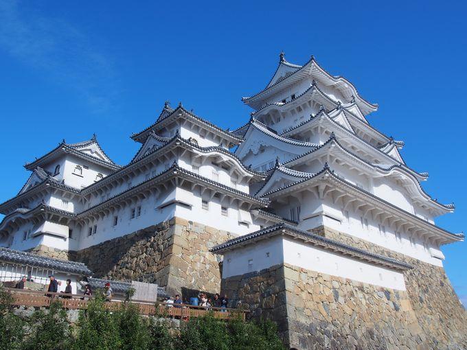 2.姫路城の美しさに隠された仕掛けを見よ