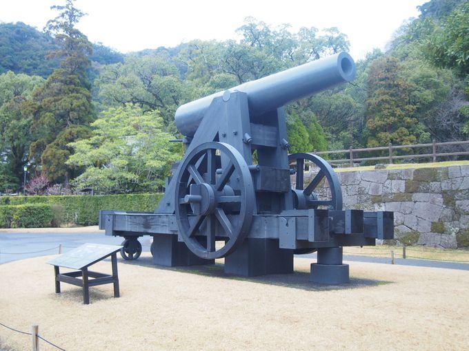 さっそく現れる薩英戦争ゆかりの「鉄製150ポンド砲」
