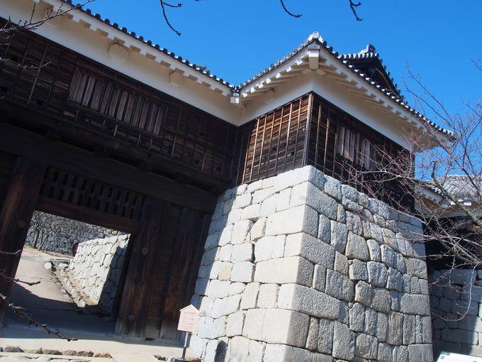 松山城名物!「筒井門と隠門」
