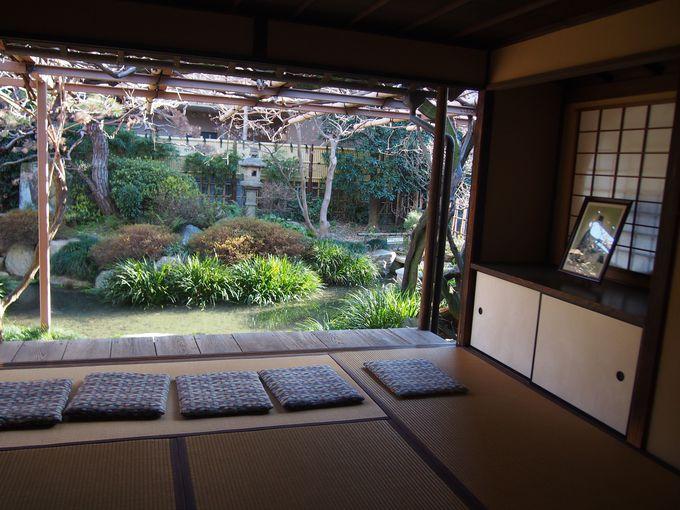 シンプルかつ粋な空間と庭が心地よい「庚申庵」