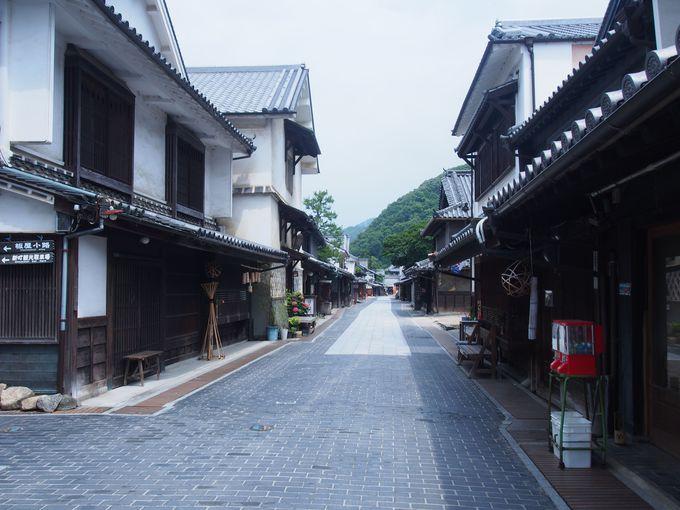 美しい竹原の町並み
