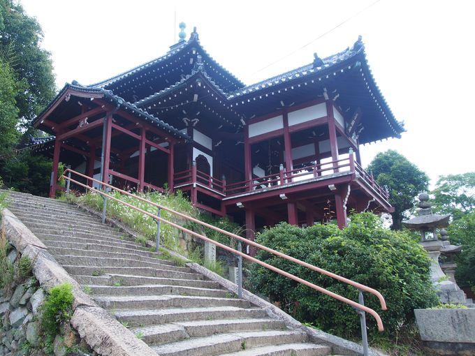 小早川隆景が建てた?「西方寺普明閣」