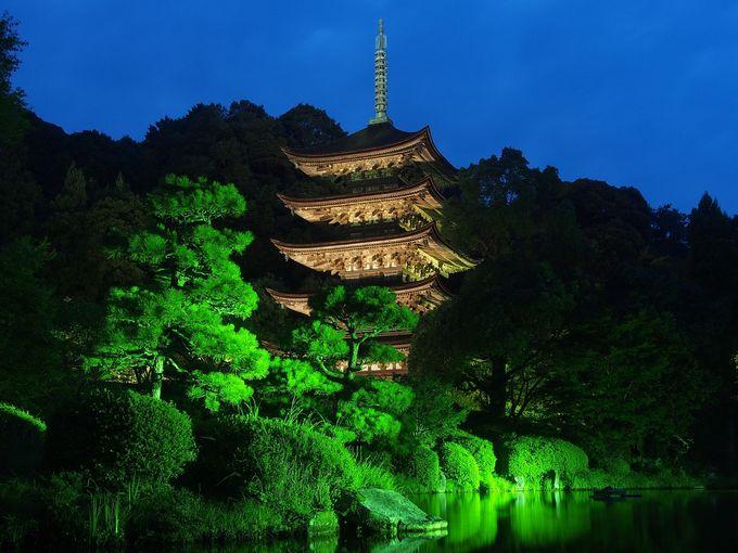 26代・盛見時代を伝える中世建築の国宝「瑠璃光寺五重塔」