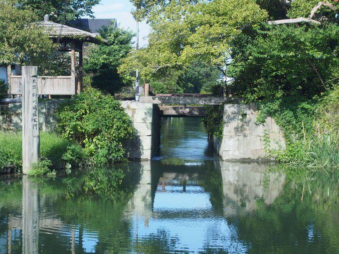 柳川城防衛の鍵!「柳川城堀水門」