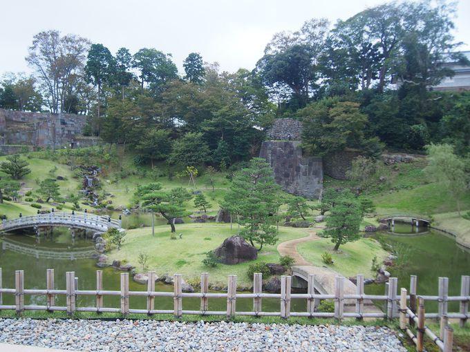 加賀藩らしいユニークさ「金沢城玉泉院丸庭園」