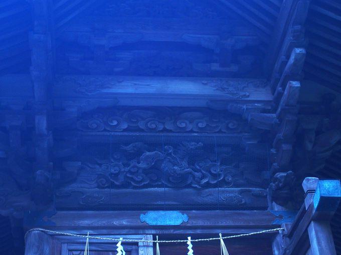 木彫優れし「温泉神社」