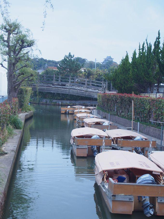 城下の堀割や川も松江城の守り