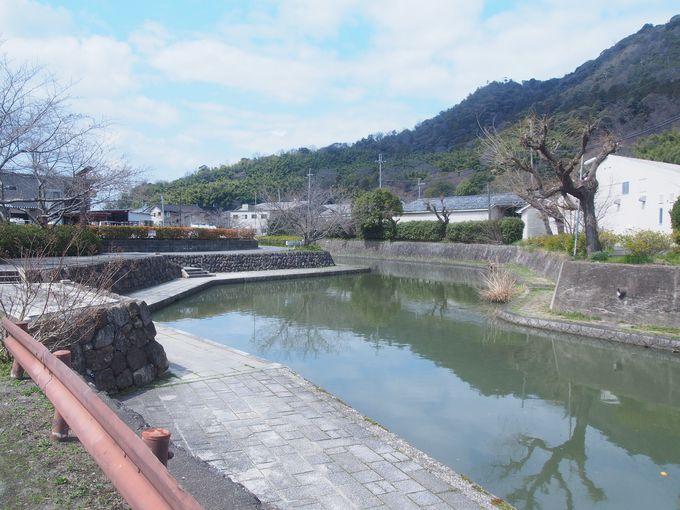 八幡山と八幡堀