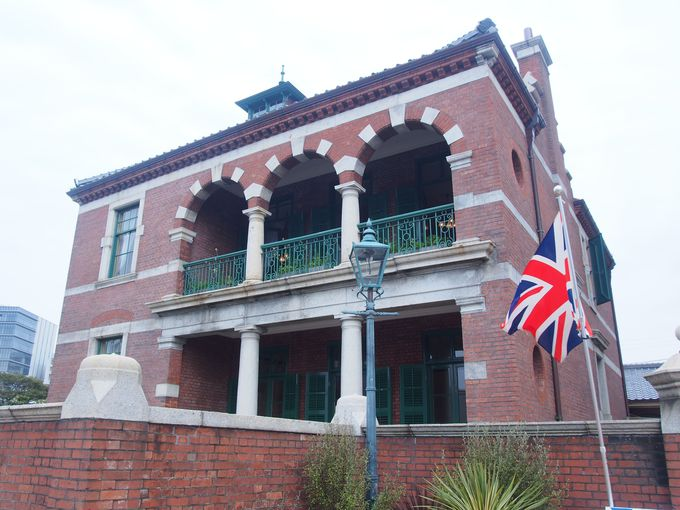 いかにも英国風な「旧下関英国領事館」