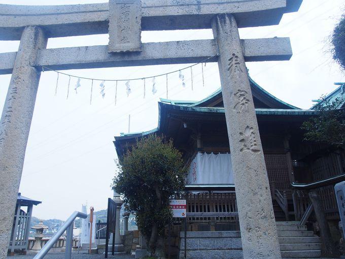 関門海峡を慰める和布刈神社