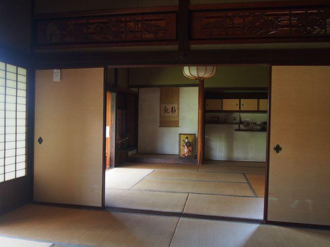 洗練された商家建築「藤田千年治邸」
