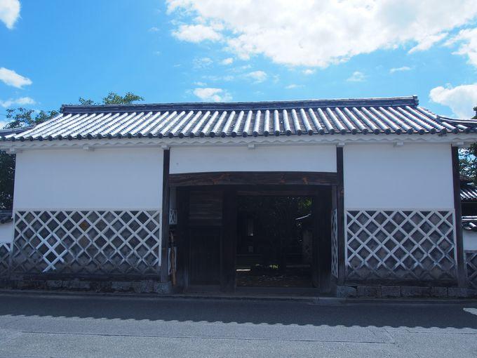 ほぼ完存する家老屋敷は県下唯一「旧足守藩侍屋敷」