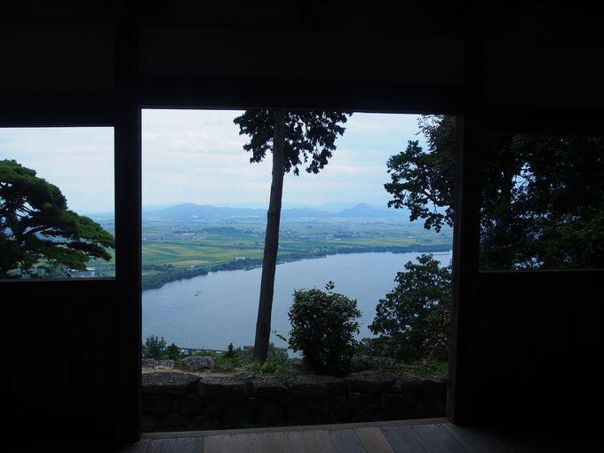 琵琶湖を望む眺望