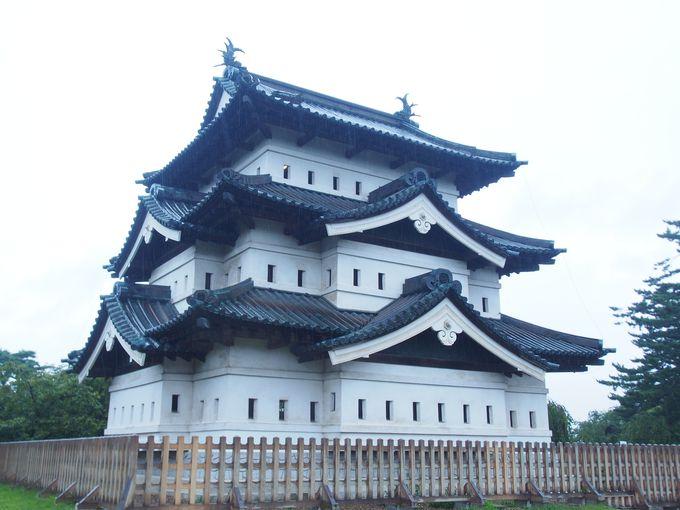 2日目午前:「弘前城」散策