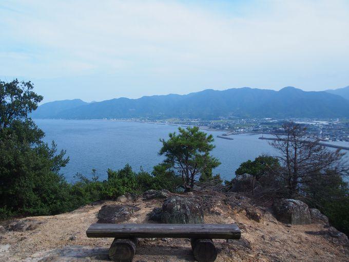 眺望が素晴らしい「引田城」