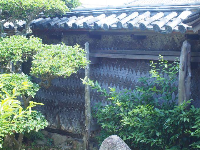 先人による意匠や仕掛けの良さを感じる「讃州井筒屋敷」