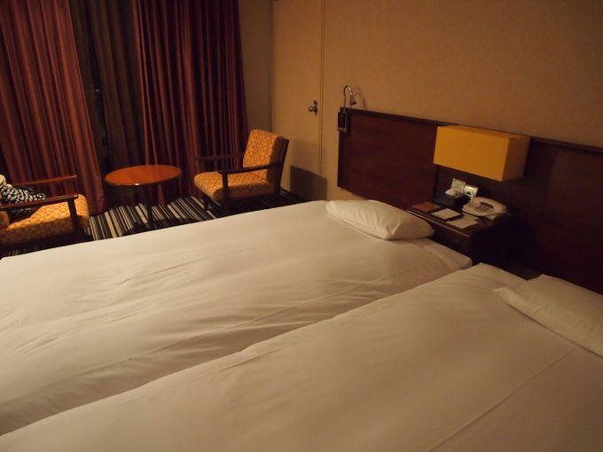 部屋は広く清潔で快適