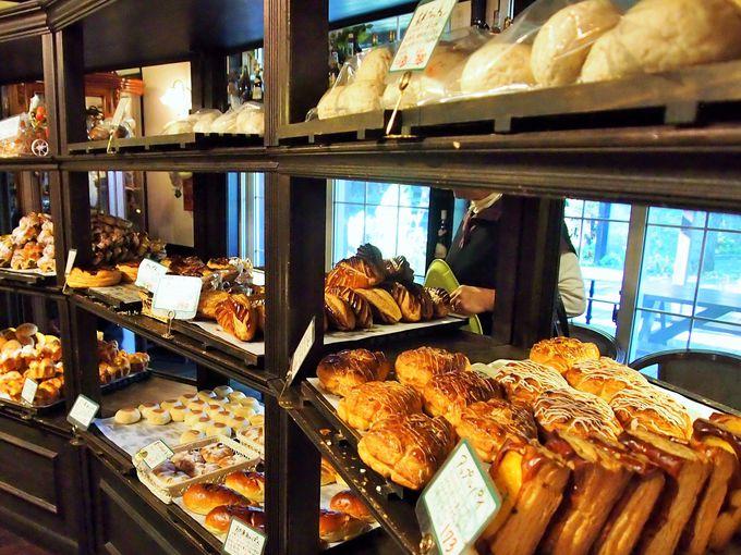 種類豊富な焼きたてパン!