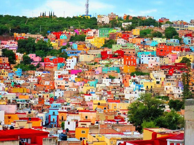 まるでレゴ!メキシコ・カラフルな世界遺産の街「グアナファト」