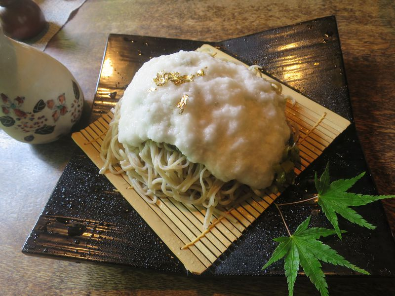 まるでお蕎麦が雪化粧!安曇野「時遊庵 あさかわ」の雪花ざるそばが美しすぎる