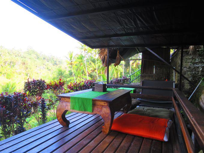 絶景を望むパディカフェ!バリ島らしさを味わえるガゼボ席がオススメ