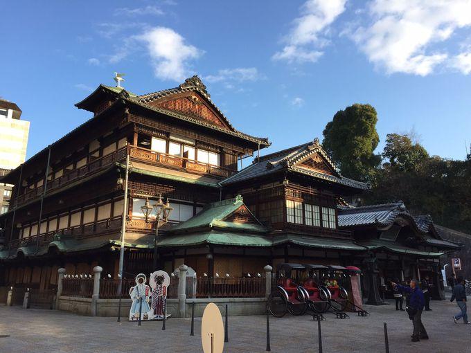 日本最古の温泉に触れてみよう〜道後温泉〜