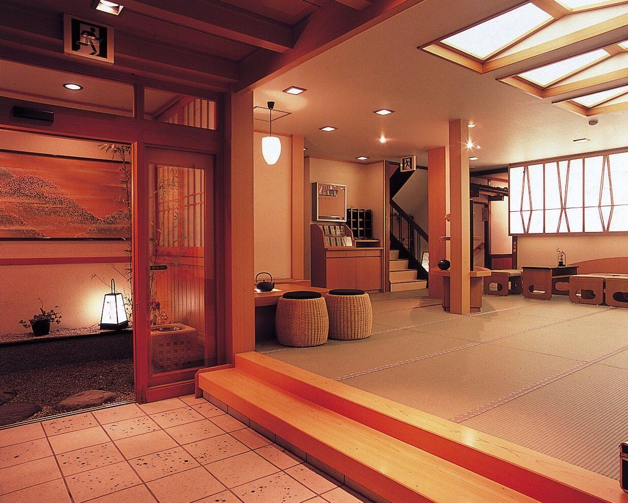 三朝温泉でも館内・総畳敷きは二軒のみ!その内の一軒は「木造りの宿 橋津屋」
