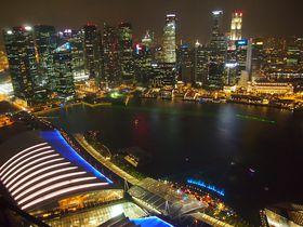 裏技も?宿泊せず楽しむシンガポール「マリーナ・ベイサンズ」
