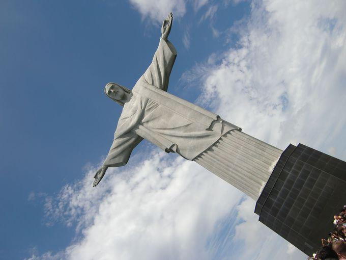 コルコバードの丘のキリスト像